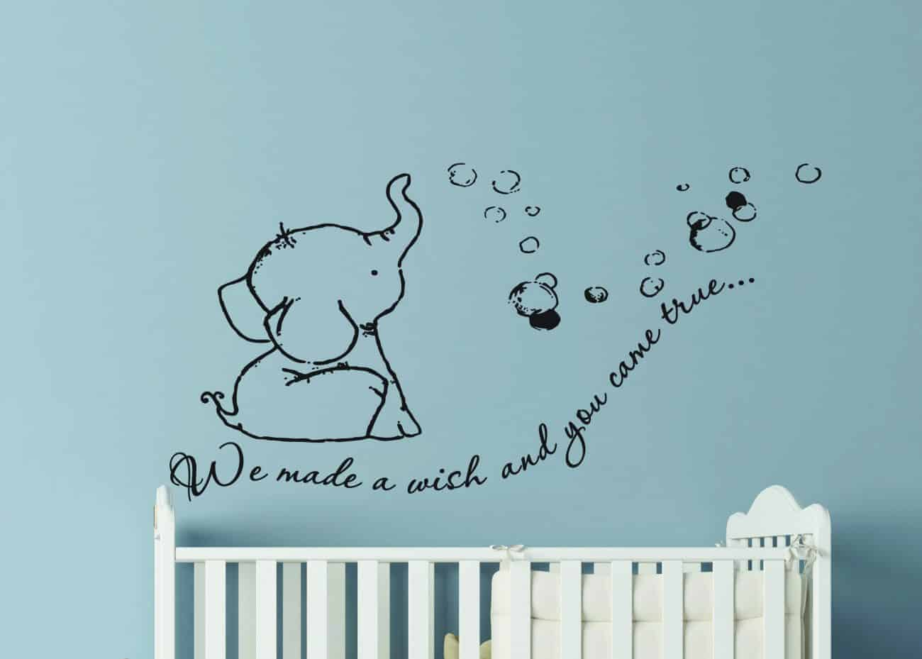Nursery wall decal stickers