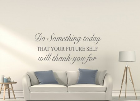Do something today wall decal sticker