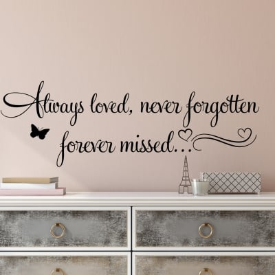Always Loved Wall Decal